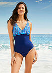 Costum de baie protetic sustenabil marin-bleu cu model bpc bonprix collection 14