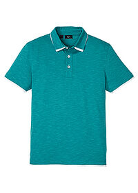 Tricou Polo turcoaz melanj bpc bonprix collection 0