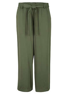 Pantaloni Culotte din vîscoză bpc bonprix collection 28