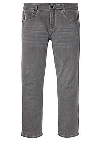 Blugi stretch Regular Fit Straight gri denim deschis bpc selection 0