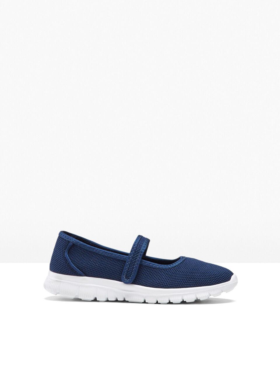 Buty wsuwane bonprix niebieski