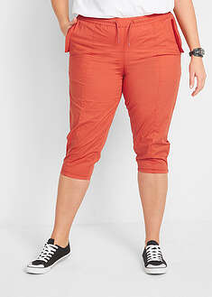 Pantaloni 3/4 cu croi carrot, lejeri bpc bonprix collection 28
