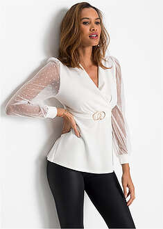 Shirt z paskiem BODYFLIRT boutique 58