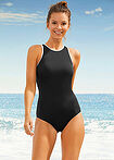 Costum de baie Tall negru bpc bonprix collection 4