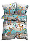 Lenjerie pat cu animale maro deschis bpc living bonprix collection 3