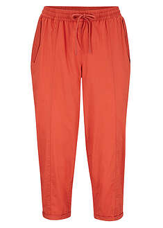Pantaloni 3/4 cu croi carrot, lejeri bpc bonprix collection 2
