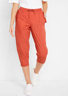 Pantaloni 3/4 cu croi carrot, lejeri bpc bonprix collection 16