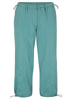 Pantaloni 3/4 cu broderie bpc bonprix collection 22