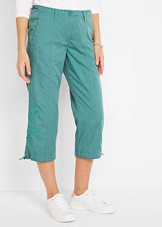 Pantaloni 3/4 cu broderie bpc bonprix collection 29