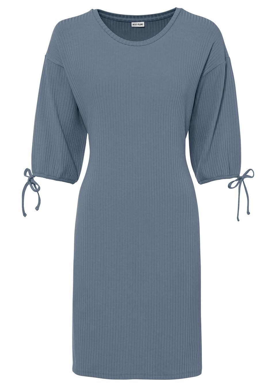 Sukienka bonprix niebieski dymny