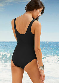Costum de baie modelator, nivel 1, sustenabil negru bpc bonprix collection 2