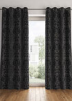 Draperie jacquard (1buc) negru bpc living bonprix collection 8