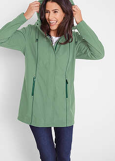 Parka softshell z kontrastowymi szwami bpc bonprix collection 30