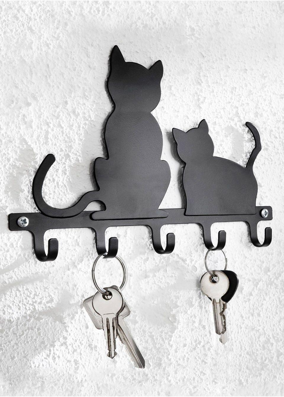 Вешалка для ключей «Кошки»