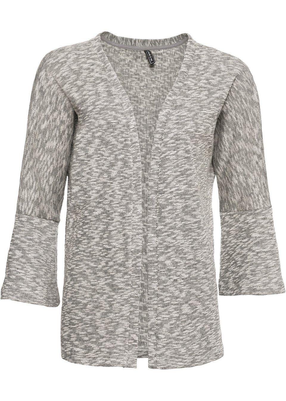 Jachetă tricotată cu mâneci largi bonprix de la RAINBOW
