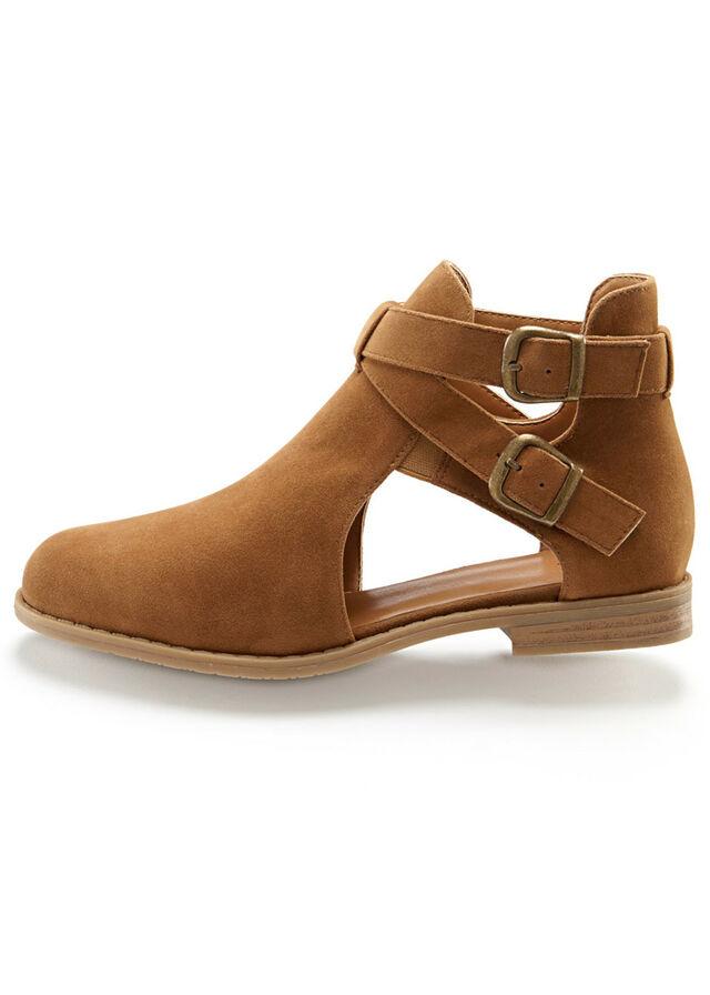 Magas szárú cipő kivágásokkal tevebarna • 7999.0 Ft • bonprix ba34695163