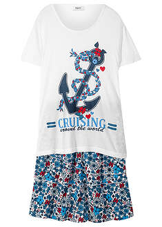 Tricou + fustă (set/2piese)-bpc bonprix collection